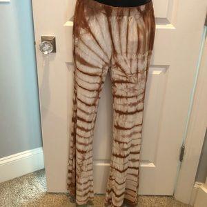 Forever 21 boho tie dye pants - size large
